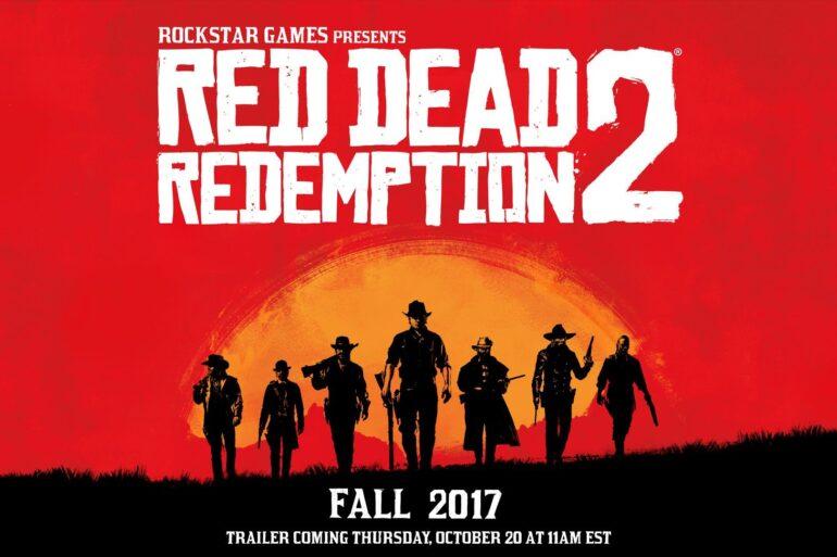 red dead redemption 2, rockstar