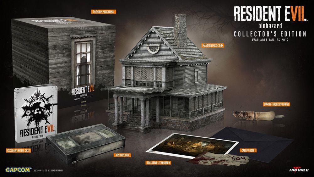 Resident Evil 7, Gyűjtői Változat