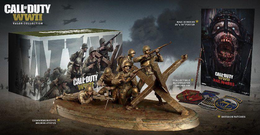 call of duty ww2 gyűjtői kiadás
