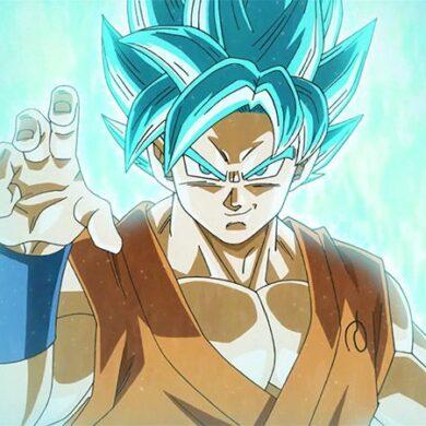 dragon ball fighterz super saiyan blue goku