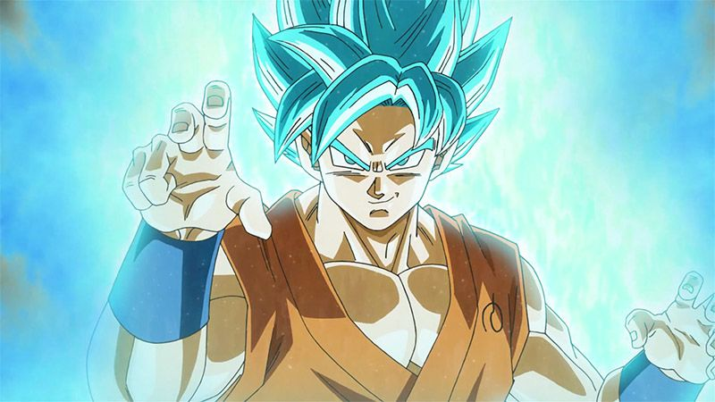 dragon ball fighterz super saiyan blue goku