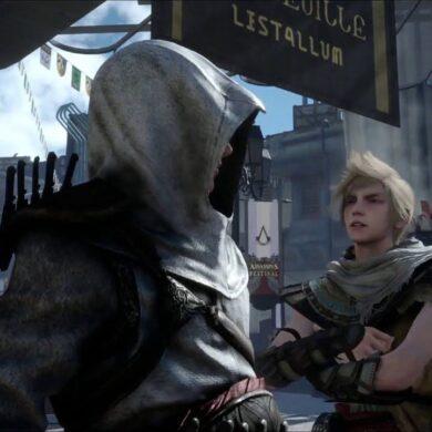 final fantasy 15 assassin's creed