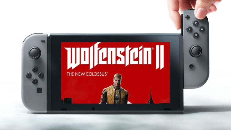wolfenstein 2 nintendo switch