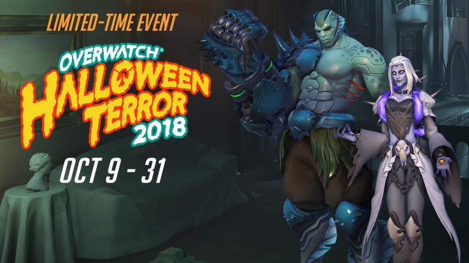 Overwatch Halloween Terror kinézetek