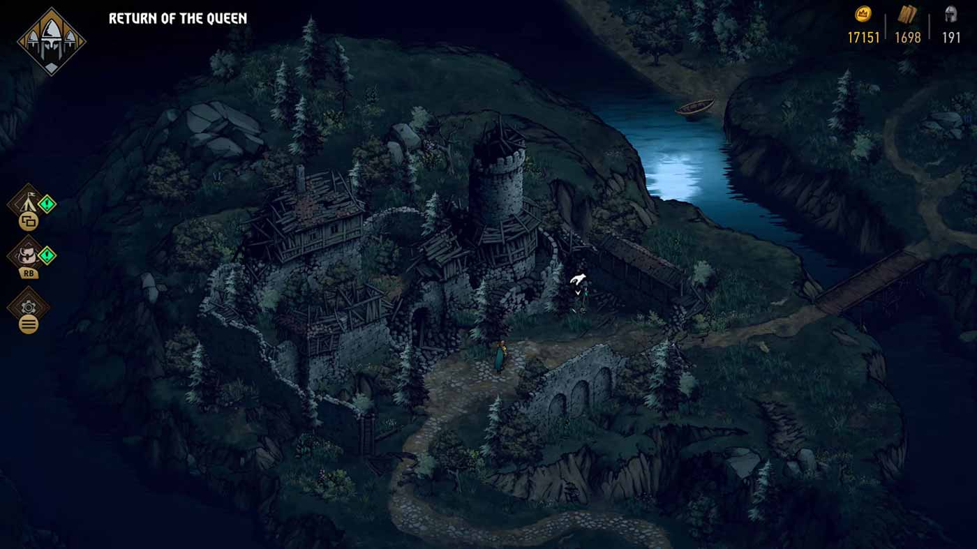 Thronebreaker helyszínek