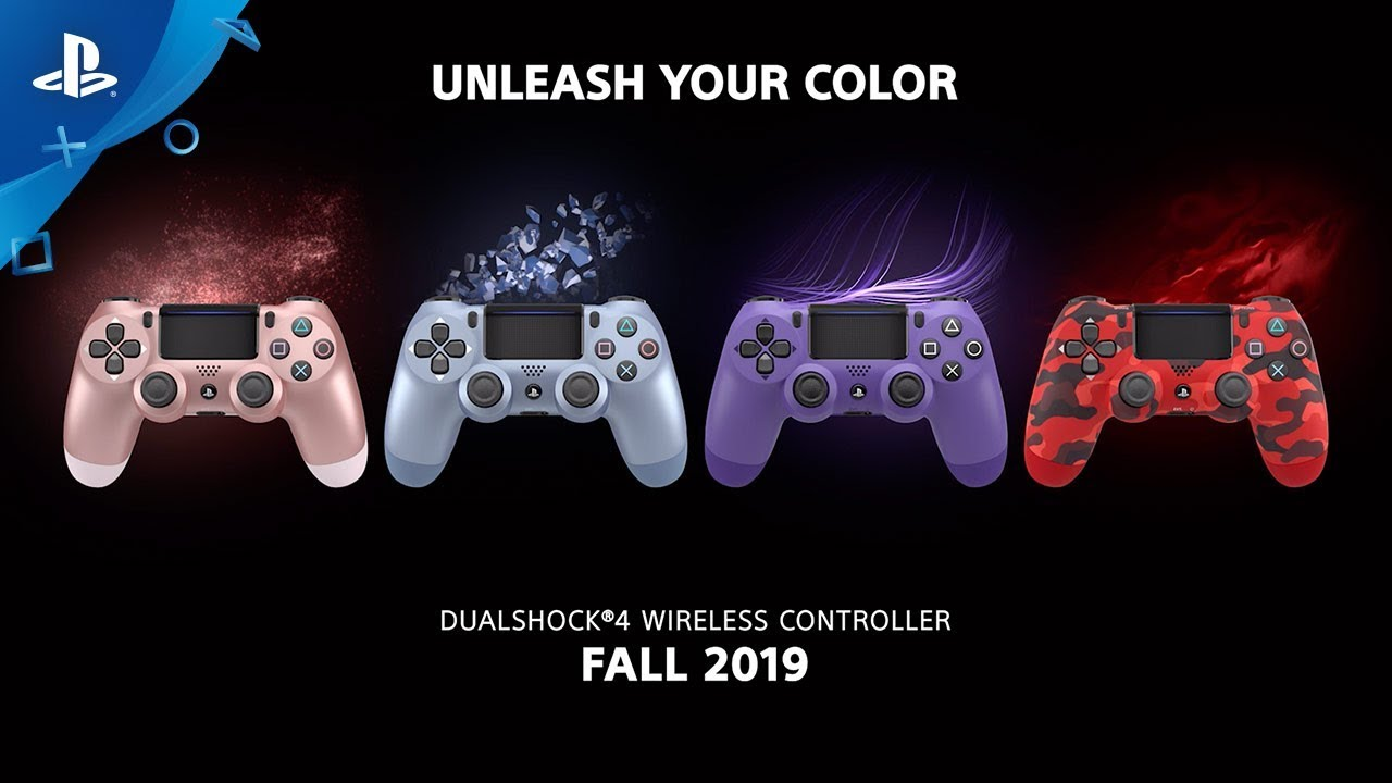 Dualshock 4 őszi színek