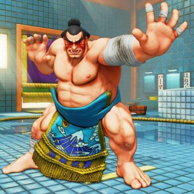 E. Honda Street Fighter 5