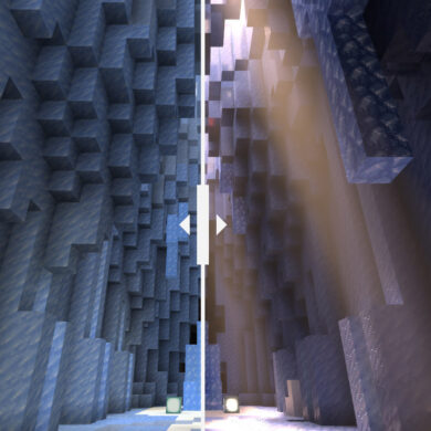 Minecraft Ray-tracing