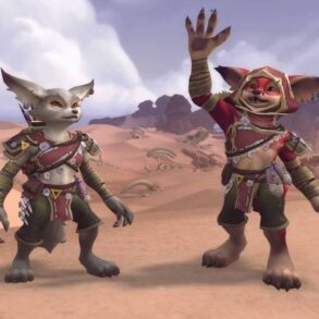World of Warcraft Vulpera Mechagnome