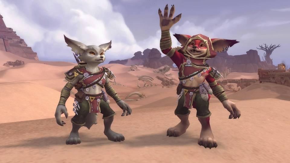 World of Warcraft Vulpera Mechagnome