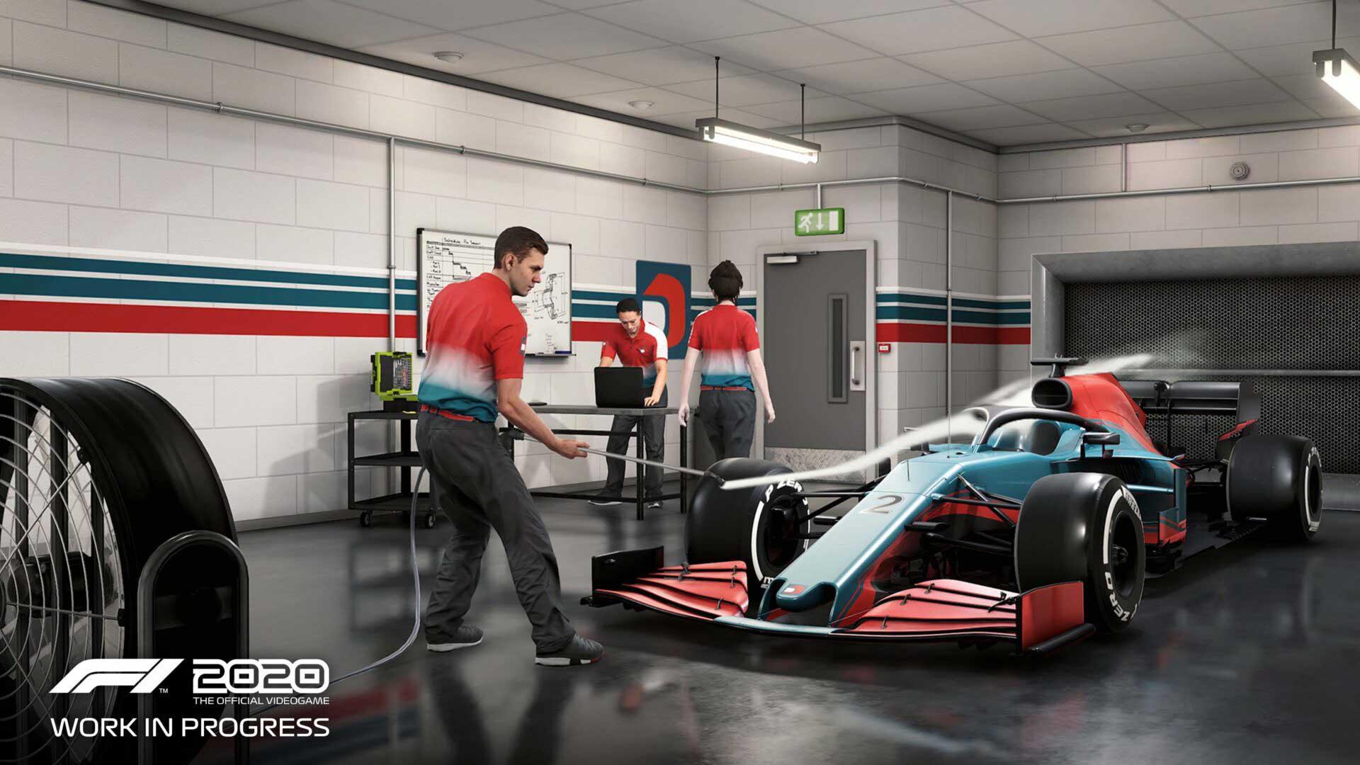F1 2020 játékteszt My Team