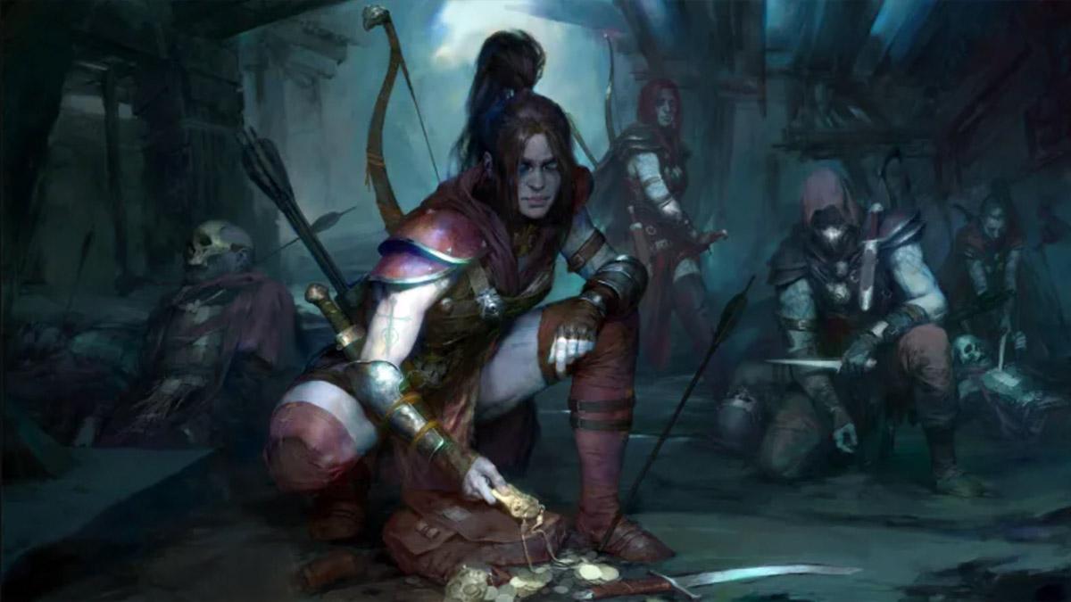Diablo 4 Rogue karakter