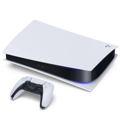 PlayStation 5 Digital Edition fekvő
