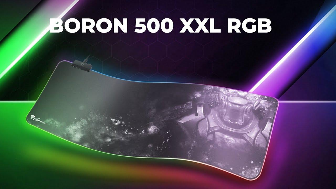 Boron 500 XXL RGB egérpad